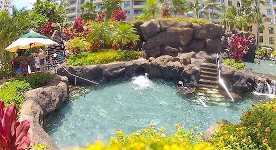 Marriott Ko Olina Beach Club: Water slide