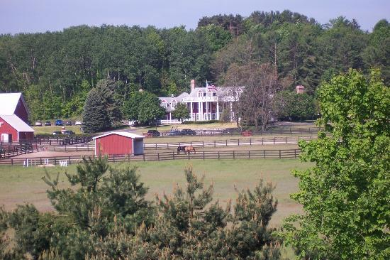 The Inn at Black Star Farms: view from the road