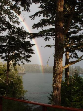 A Snug Harbour Inn: Rainbow ends at the Inn