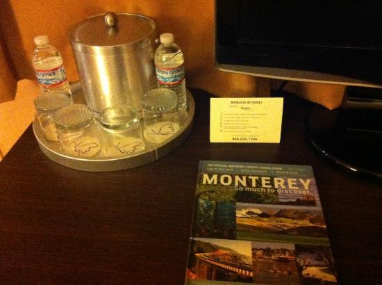 Mariposa Inn and Suites: Nice touch