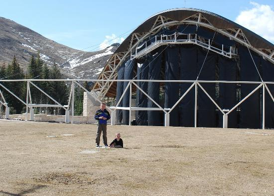 Sun Valley Lodge: amphitheatre
