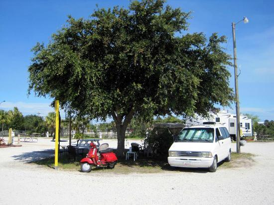 Fort Pierce KOA: our camp Spot