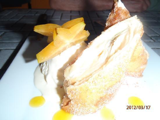 Mi Terraza: Great dessert