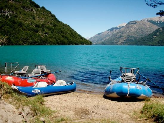 Valle Bonito Lodge: Lake Espolon, Patagonia, Chile