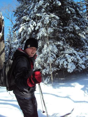 Bearskin Lodge : On the trails