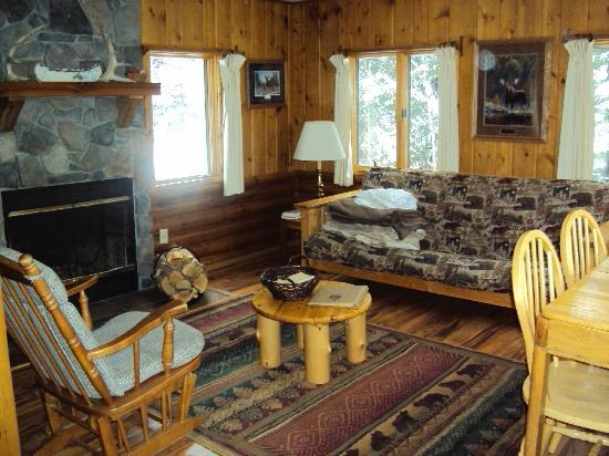 Bearskin Lodge: Living room
