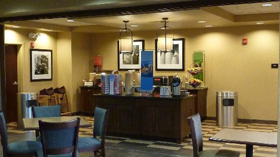 Hampton Inn Winfield: Buffet du PdJ