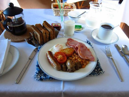 Tan Dinas Country House: John's welsh breakfast