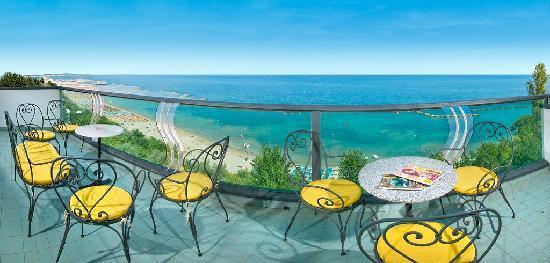 Hotel Majestic: Balcone Sala