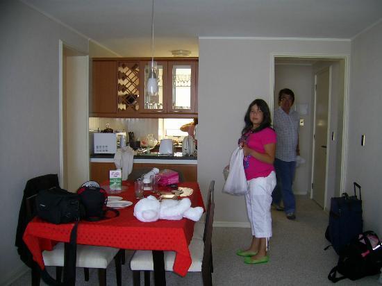 San Alfonso del Mar : El Living Comedor