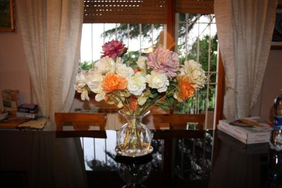 B&B Ipogeo degli Ottavi : dining table