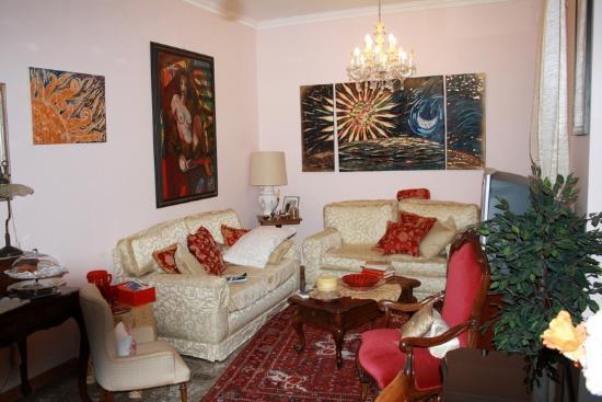 B&B Ipogeo degli Ottavi : living room