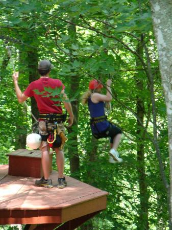 Mammoth Cave Adventures: First Zip Ride