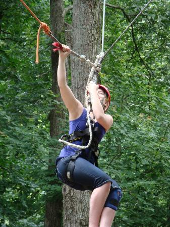 Mammoth Cave Adventures: Swing is wenched up