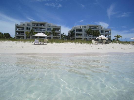 Le Vele Resort from the ocean