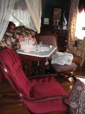 The Empress of Little Rock: Furniture in one of the bedrooms.