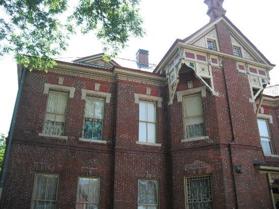The Empress of Little Rock: Exterior view of the back of the house.