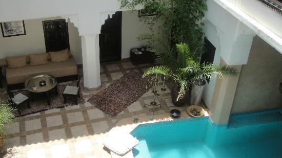 Riad Asna : patio