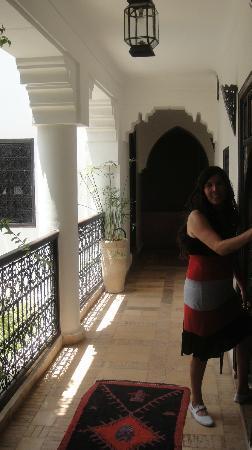 Riad Asna: pasillo