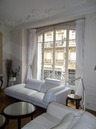 Bed and Breakfast VIP Champs Elysees: Beautiful living room