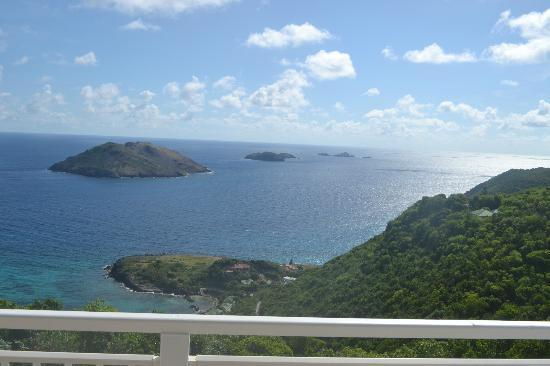 Le P'tit Morne Hotel: View