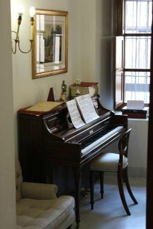 Small Room With Piano Picture Of Hotel Amadeus Seville