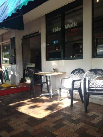 Sidewalk Cafe Restaurant & Bar: Sidewalk Cafe entrance