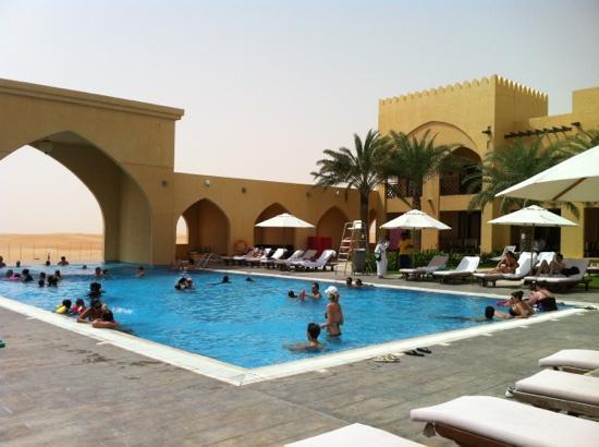 Tilal Liwa Hotel: the emptiest we have seen hotel pool