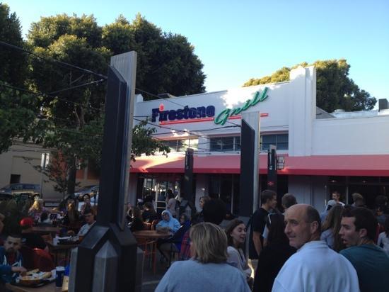 Firestone Grill: outside