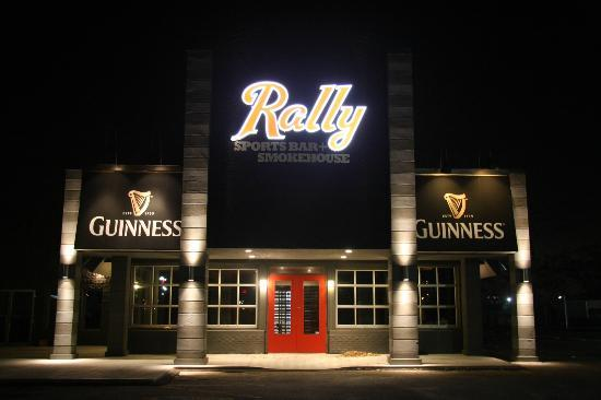 exterior picture of rally sports bar amp smokehouse