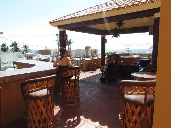 Las 7 Maravillas: Disfrutando de la vista en la terraza