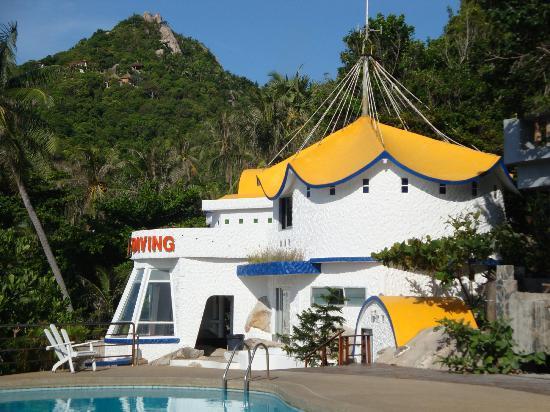 Black Tip Diving & Water Sports IDC Resort: Tauchschule Montalay