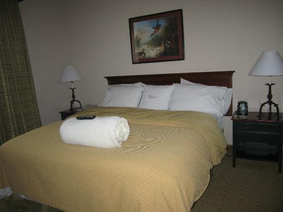 Homewood Suites by Hilton-Hillsboro/Beaverton: Bed was so comfortable!