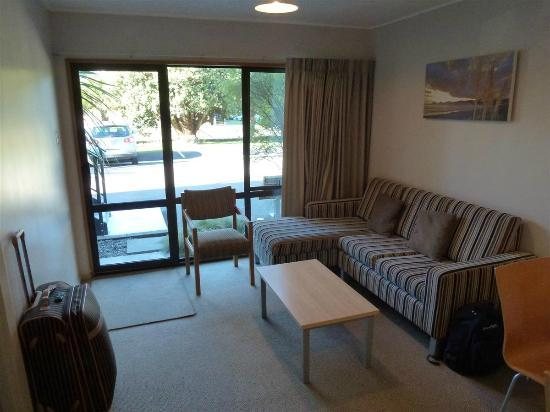 Akaroa Waterfront Motels: Zona de estar