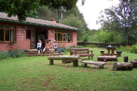 Khotso Adventure Farm: sitting on the stoep