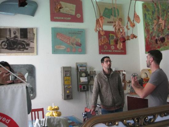 B&B Quattrogatti: The dinning room