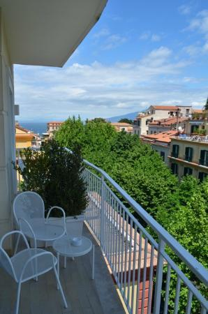 Hotel Plaza: Aussicht Richtung Meer