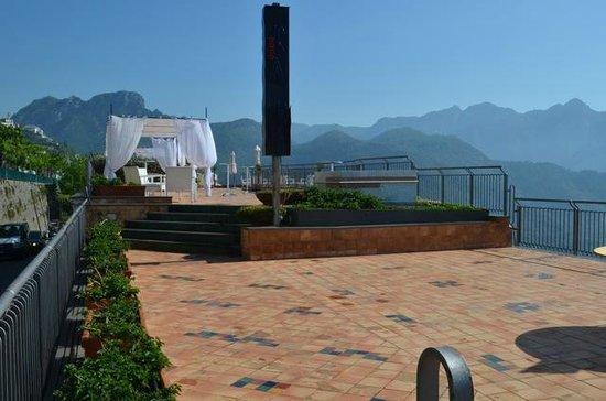 Graal Hotel Ravello: Dach-Terrasse