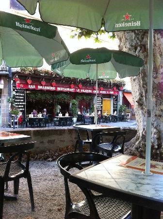 Le Miladiou: facade du bar