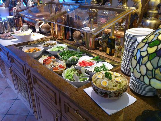 Wellness-Hotel Elisabeth: Salatbüffet