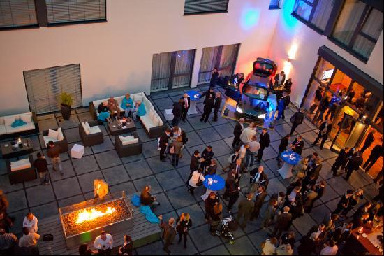 Legere Hotel Luxembourg : patio - event