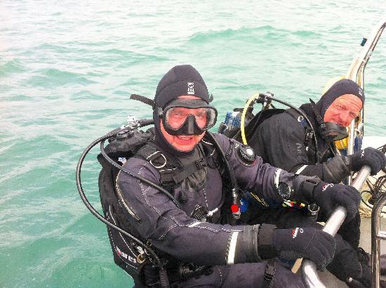 Dive Jersey: Diving in April
