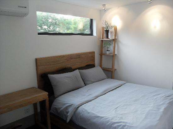 CU National Youth Hostel: sunny double room-mountain echo