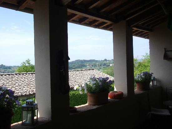 Agriturismo Marciano: terrace and gathering place