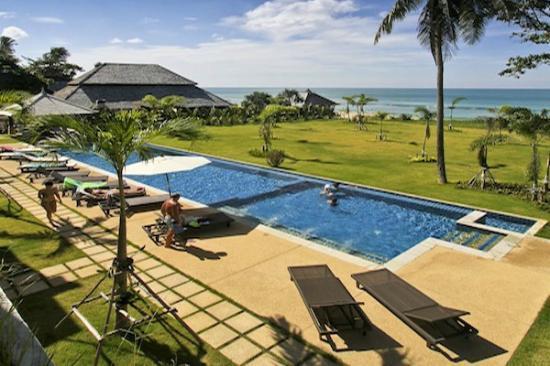 Thai Estate Beach Apartments: View from upstairs apartment