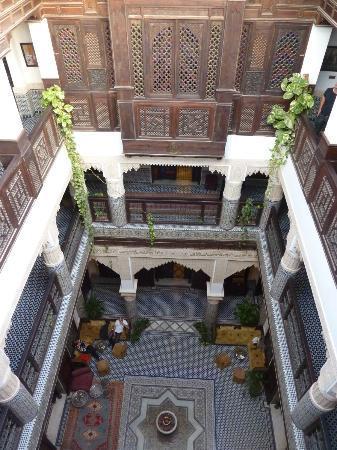 Riad Salam Fes: le balcon de la suite royale