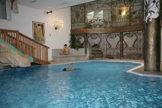 Alba di Canazei, Italia: La piscina