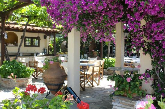 Pounda Paou: Dining area