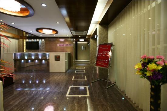 Hotel Atithi: Reception