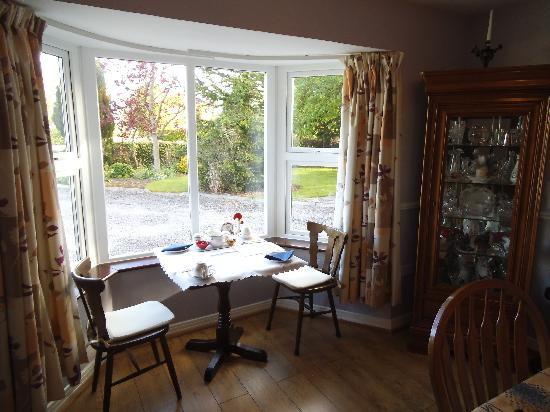 Twin Oaks B&B: Dining Area for Breakfast